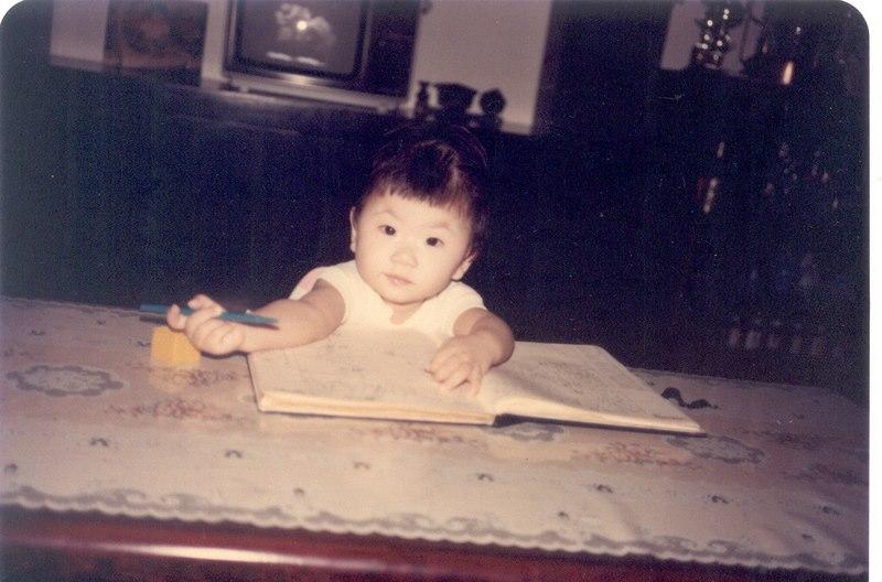 Me, circa 1990.