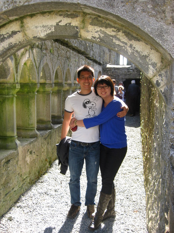 At the Ross Errilly Friary.
