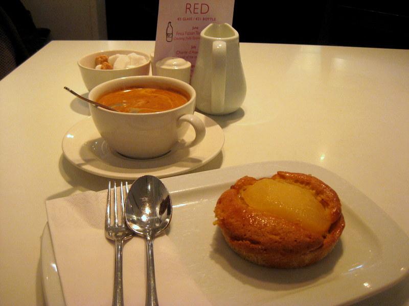 Pear tart at Gourmet Tart & Co., Galway